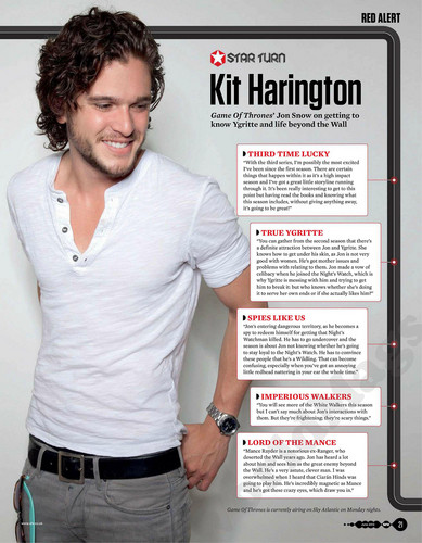 Kit Harington - SFX magazine