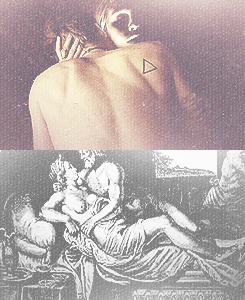 Klaus & Caroline as Ares (God of War) and Aphrodite (Goddess of Love)