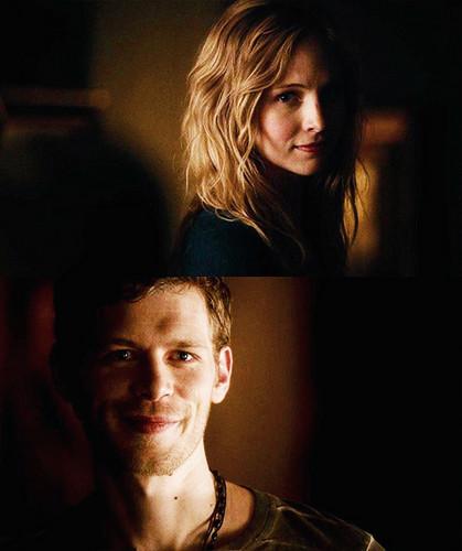 Klaus and Caroline in 4.18
