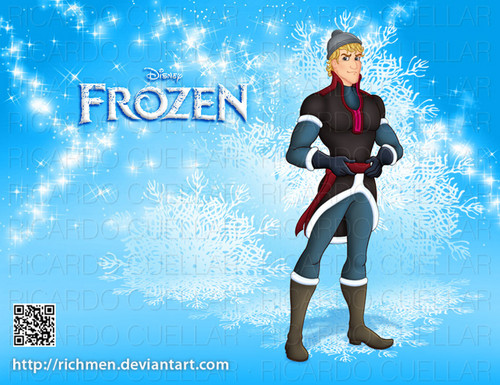 Frozen wallpaper possibly with a stocking titled Kristoff