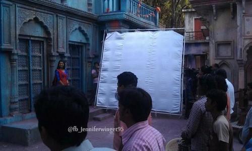 Saraswatichandra (série TV) fond d'écran containing a rue called Kumud (Behind d Scene) ♥