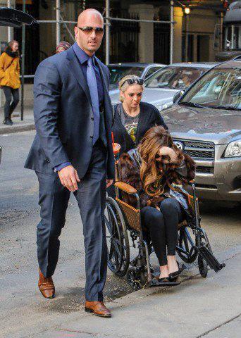 Lady Gaga en New York - 02/04/2013