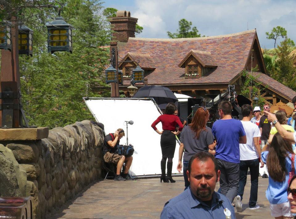 Lana in the Magic Kingdom