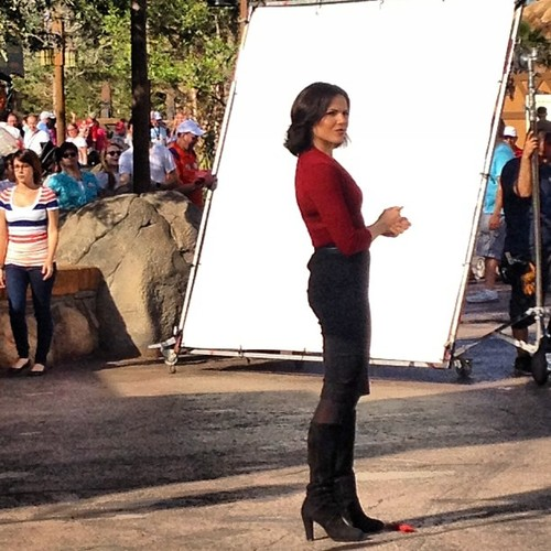 Lana Parrilla disney world