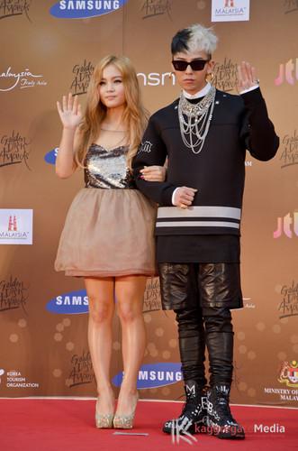 LeeHi with GD