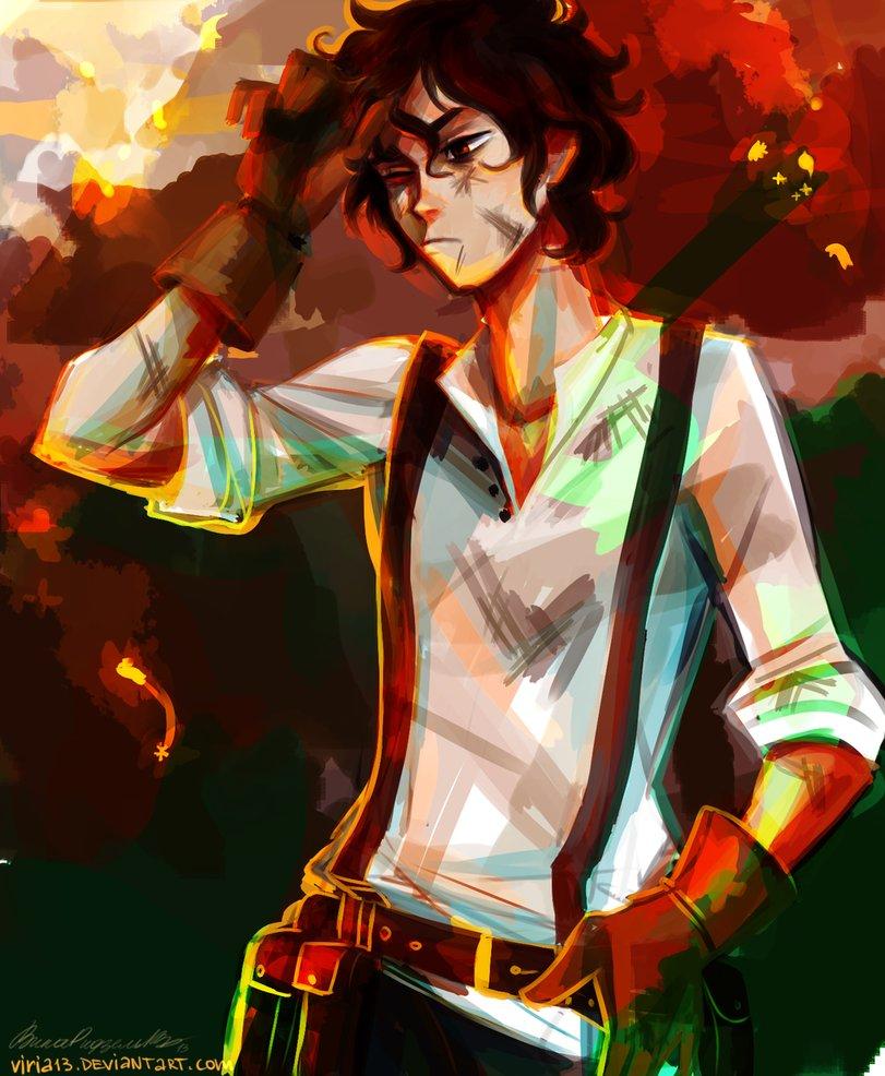 Leo - The Heroes of Olympus Fan Art (34149304) - Fanpop