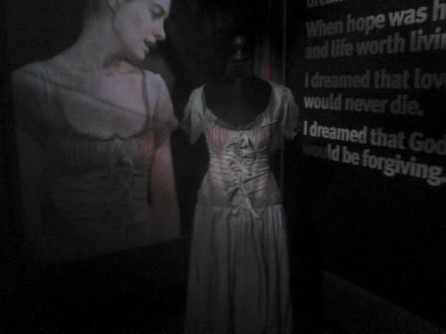Les Miserables Costume & apoyo Exhibition