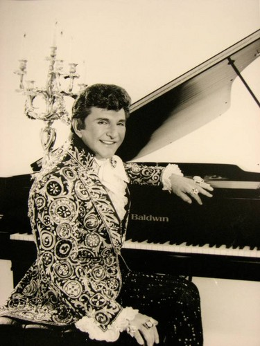 Liberace Black and White