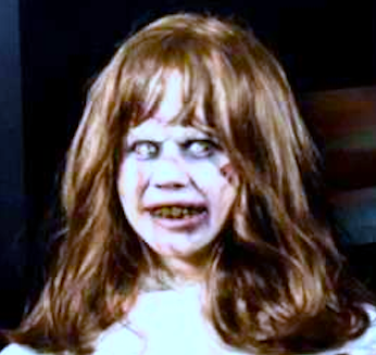 The Linda Blair Pretty Corner achtergrond containing a portrait entitled Linda Blair