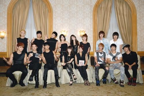 MBLAQ, 2PM & Wonder Girls