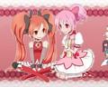 Madoka and Kyoko hairstyles