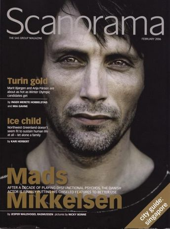 Mads in Scanorama magazine