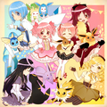 Magical Girls and there Pokemon