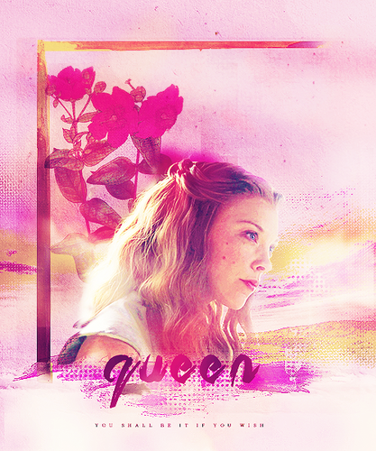Margaery Tyrell wallpaper containing a bouquet and a portrait entitled Margaery Tyrell