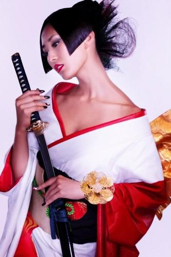 Japan karatasi la kupamba ukuta called Maria Kamiyama [Miss Universe Japan 2011]