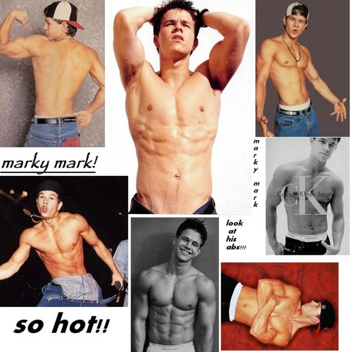 Mark Wahlberg fondo de pantalla containing a hunk, a six pack, and skin titled Marky Mark
