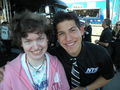 Me and Brennan Newberry - nascar photo