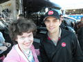 Me and James Buescher - nascar photo