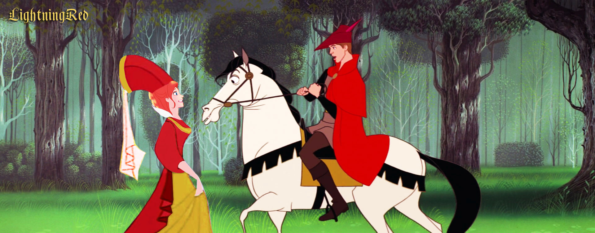 disney crossover images medieval giselle and phillip