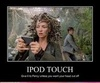 Medusa With an iPod Touch?