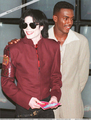 Michael And Actor/Comedian, Bill Bellamy - michael-jackson photo