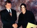 Michael And Dieter Weisner - michael-jackson photo