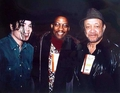 Michael With Bill Bray And Herbie Hancock - michael-jackson photo