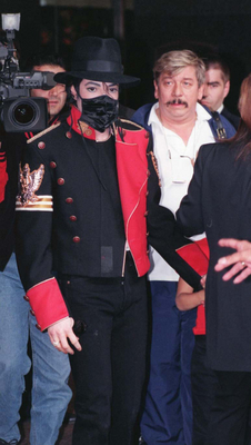 Michael On Tour In London Back In 1997
