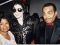 Michael With His Parents Joseph And Katherine - michael-jackson photo