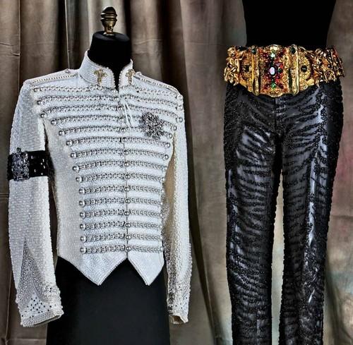 Michael's Custom-made Wardrobe