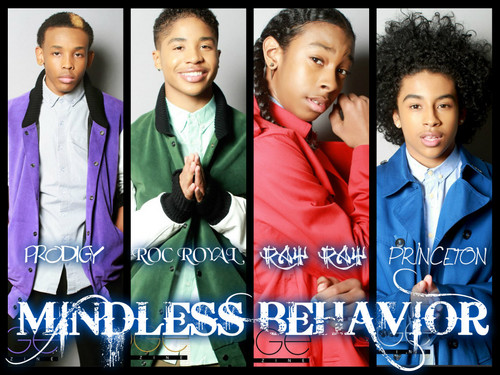 mindless behavior fondo de pantalla with a portrait entitled Mindless Behavior