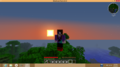 Minecraft Sunset - minecraft photo
