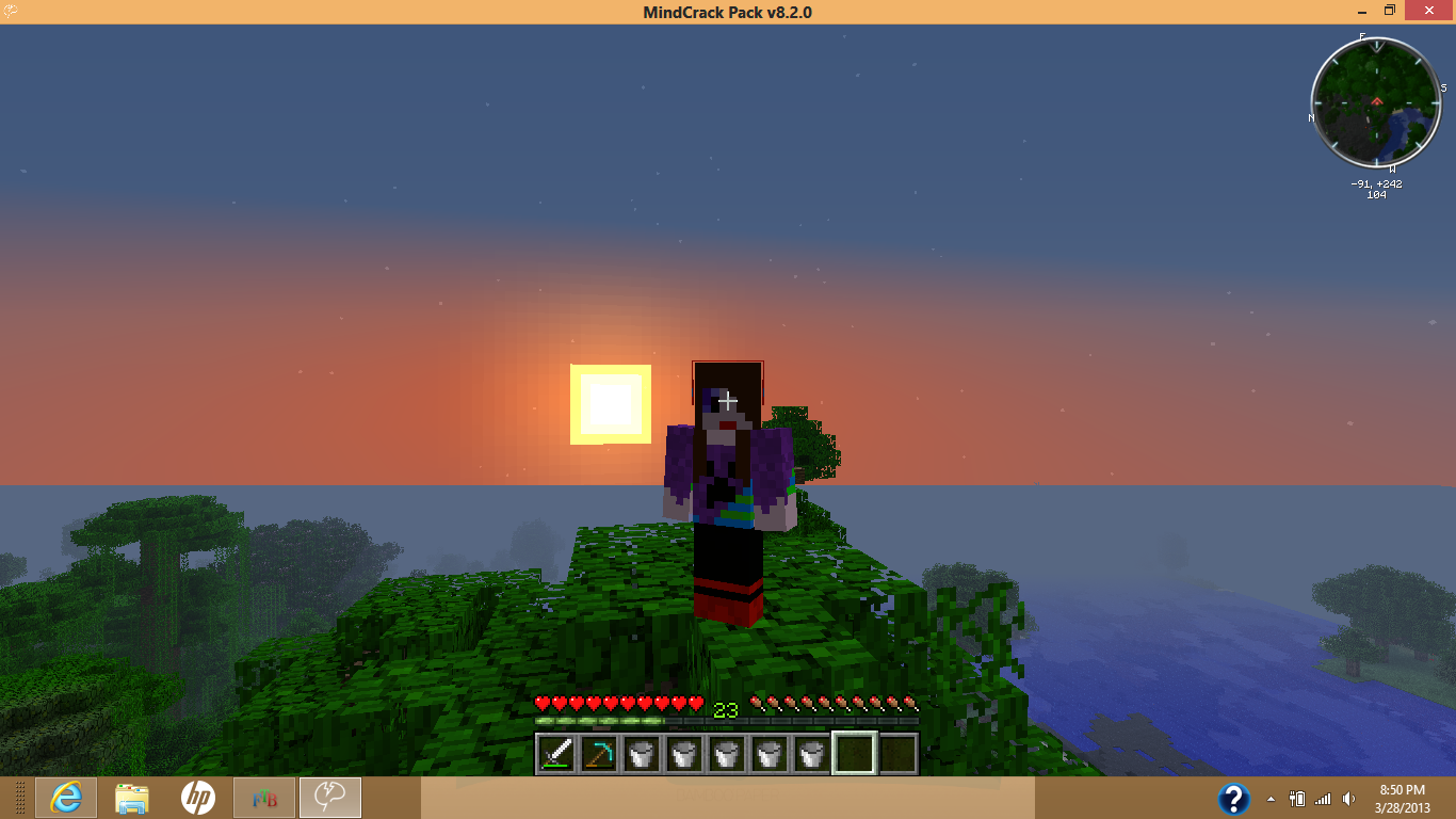 Minecraft Sunset Minecraft Photo 34101910 Fanpop