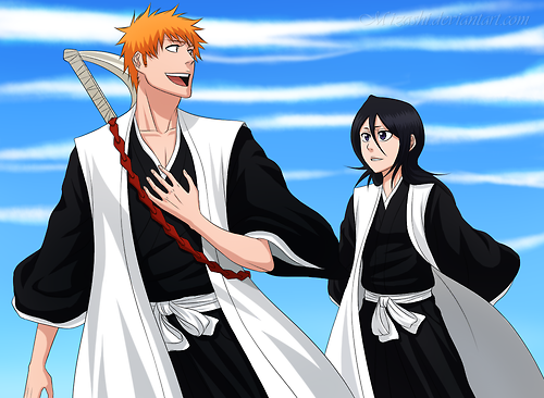 Bleach Ichigo And Rukia Images More ICHIRUKI Pics Wallpaper Background Photos