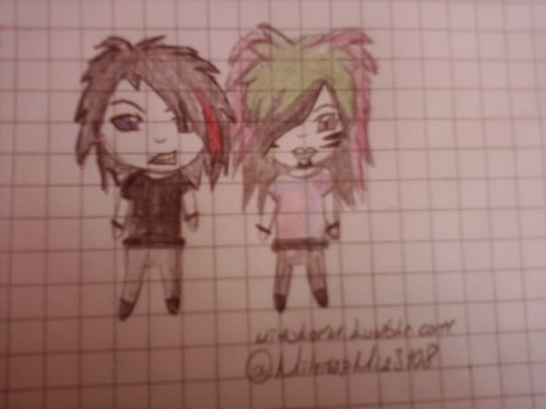 My Drawing Of Botdf <3