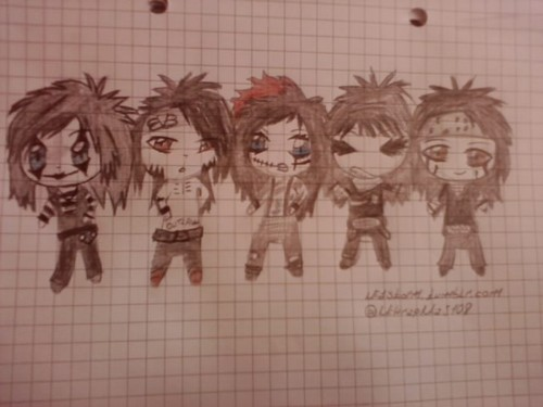 My Drawing Of Bvb