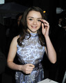 NYC Exhibition - Maisie Williams - game-of-thrones photo