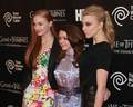 NYC Exhibition - Sophie Turner, Maisie Williams, Natalie Dormer - game-of-thrones photo