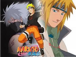 Naruto, Kakashi, Minato