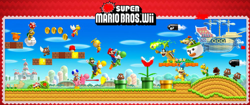 New Super Mario Bros. Wii Puzzle