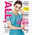 Nur Fettahoglu on the cover of All Magazine 2013 - turkish-actors-and-actresses photo