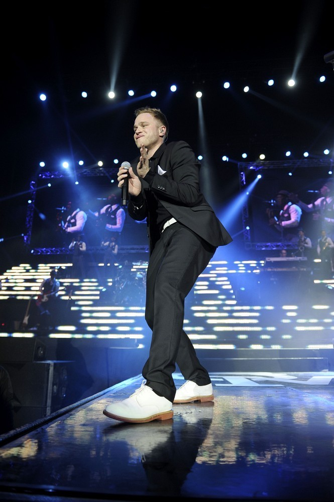 Olly Murs Performs in London
