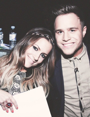 Olly and Caroline