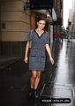 Outside the Bvlgari store in Sydney, Australia - phoebe-tonkin photo