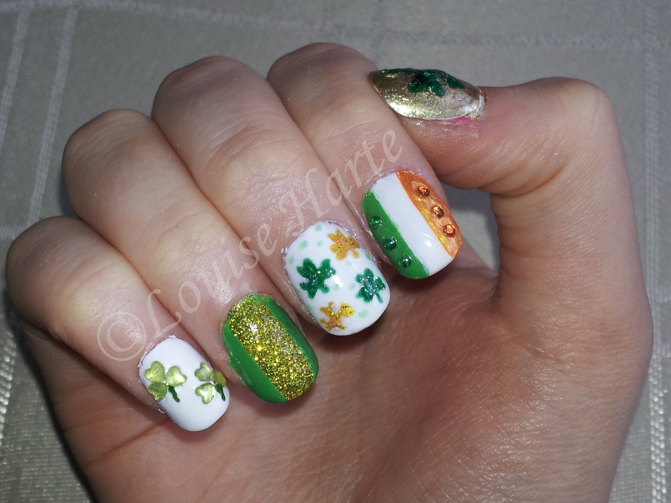 Paddy39;s Day Nails  Nails, Nail Art Photo 34180456  Fanpop