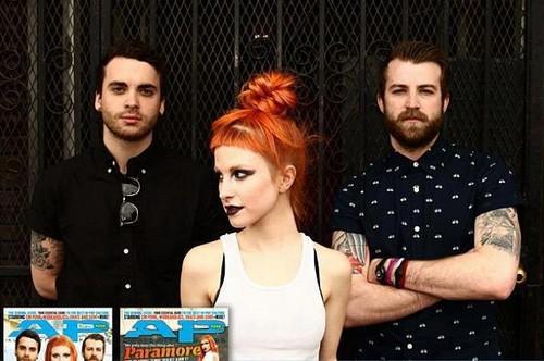Paramore on Alternative Press magazine