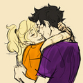 Percabeth - the-heroes-of-olympus fan art