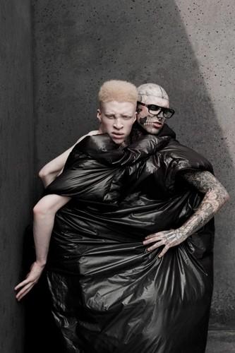 Pigments: Shaun Ross and Rick Genest