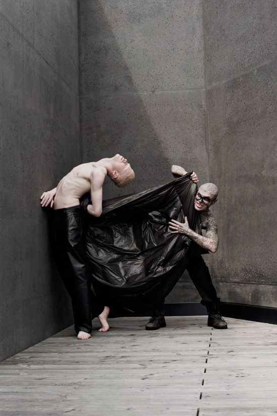 Shaun Ross images Pigments: Shaun Ross and Rick Genest HD ...