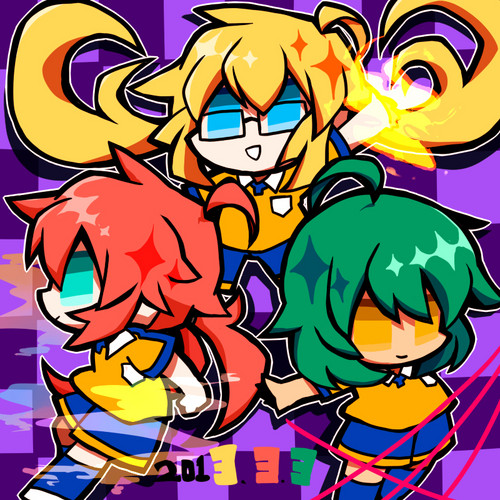 Power Puff Inazuma?!